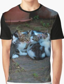 Happy family  Graphic T-Shirt