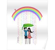 Rain Lover Poster