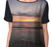 Sunset Chiffon Top