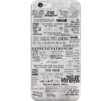 You're a wizard, Harry - Full Version iPhone Case/Skin
