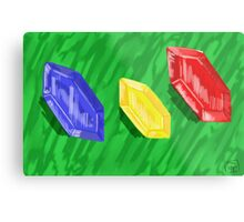 Gem Collection Metal Print