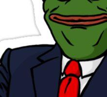 Trump Pepe Sticker