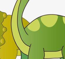 Brachiosaurus and Triceratops Sticker