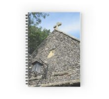In the churchyard Spiral Notebook