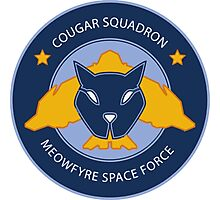 Cougar Squadron Photographic Print