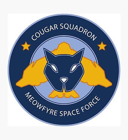 Cougar Squadron Photographic Print