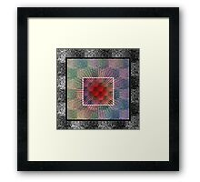Layers of my Heart Framed Print