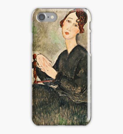 Amedeo Modigliani - Portrait Of Dedie Hayden  iPhone Case/Skin