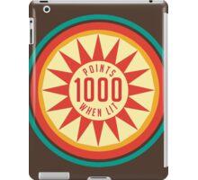 Retro Pinball Points iPad Case/Skin