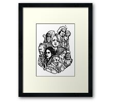 Witcher Wild Hunt Framed Print