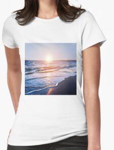 BEACH DAYS IX Womens Fitted T-Shirt