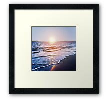 BEACH DAYS IX Framed Print