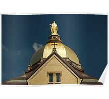 Golden Dome-University of Notre Dame Poster