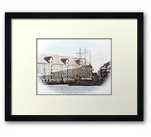 Hidden in the Shadows Framed Print