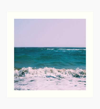 BEACH DAYS X Art Print
