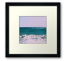 BEACH DAYS X Framed Print