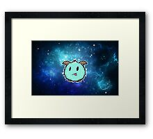 space poro Framed Print