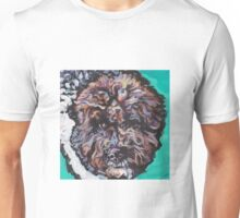 Lagotto Romagnolo colorful pop dog art Unisex T-Shirt