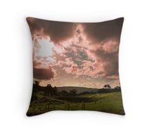 Mystic Valley - Fields of Magic Throw Pillow