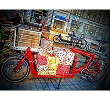 Gifts on Two Wheels Photographic Print