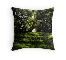 Shadows and Trees Throw Pillow