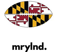 Maryland Football  Photographic Print
