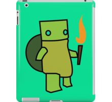 Turtle With A Torch iPad Case/Skin