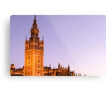 Sunset in the Spanish skies Metal Print