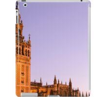 Sunset in the Spanish skies iPad Case/Skin