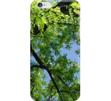 Green Skies  iPhone Case/Skin