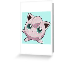 Jigglypuff / Music Greeting Card