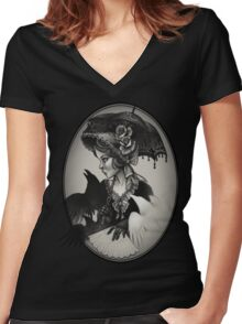 Parasol  Women's Fitted V-Neck T-Shirt