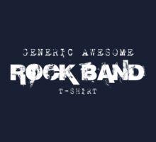 Generic RoCk BaNd T Shirt Kids Tee