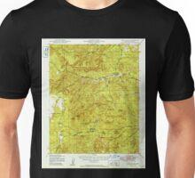 USGS TOPO Map Arizona AZ Camp Wood 314450 1949 62500 Unisex T-Shirt