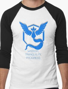 Team Mystic - Wisdom, Tranquility, Progress Men's Baseball ¾ T-Shirt