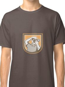 Photographer Camera Shield Retro Classic T-Shirt