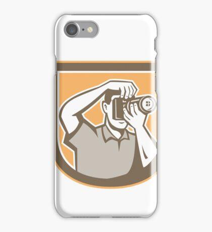Photographer Camera Shield Retro iPhone Case/Skin