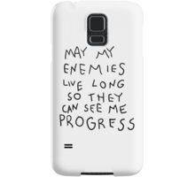 May my Enemies live long Samsung Galaxy Case/Skin