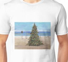 Christmas Tree at the Beach Unisex T-Shirt