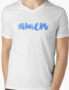 Amen Mens V-Neck T-Shirt