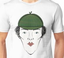 Sherlock in his Hat Unisex T-Shirt