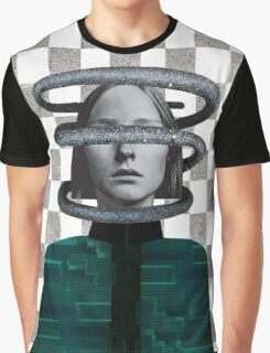Collage Earth in space series_1 Graphic T-Shirt