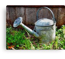 The Old Watering Can Canvas Print