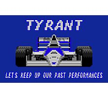 TYRANT - SUPER MONACO GP Photographic Print