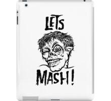 Let's Mash, Zombie! iPad Case/Skin