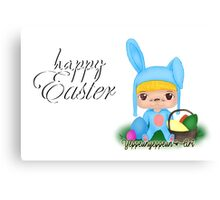 Happy Easter [Party Project] - Original (b) Canvas Print
