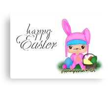 Happy Easter [Party Project] - Original (c) Canvas Print