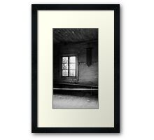 20.8.2016: Morning in Abandoned Farm House Framed Print