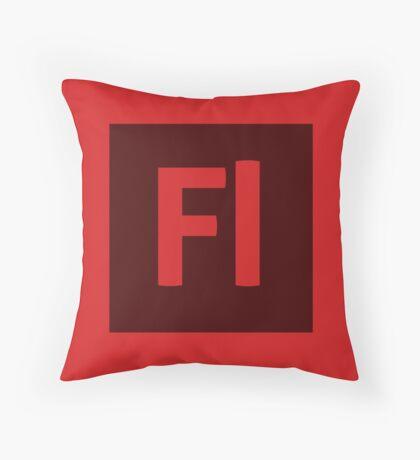 Flash (Adobe CS) Throw Pillow Throw Pillow