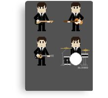 8-Bit Fab Four Canvas Print